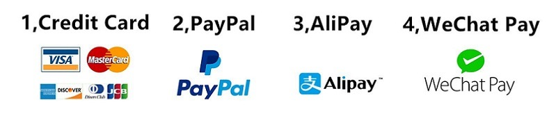 payment link, paypal, cards